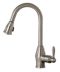 Pegasus Newbury FP0A5013BNV pull-out spray kitchen faucet