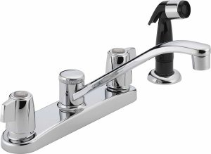 Classic Peerless faucet for kitchen P226LF with two handle and side spray
