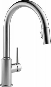 Delta 9159-AR-DST Trinsic pull-down faucet with magnetic docking system