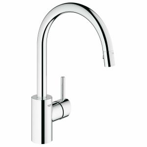 Grohe Concetto 32665001 pull-down kitchen faucet review